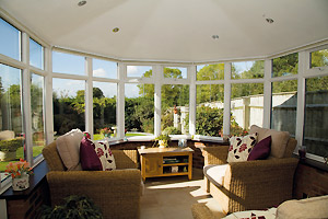 Cosy, warm, Solid Conservatory Roof by Staywhite Uk Ltd - Conservatories in Kent, Medway, Maidstone and across the South East of England and the UK